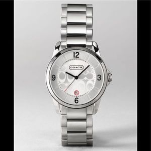 Coach Classic Signature 14501185 Silver Watch